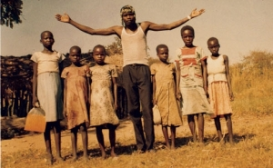 Joseph Kony and young children